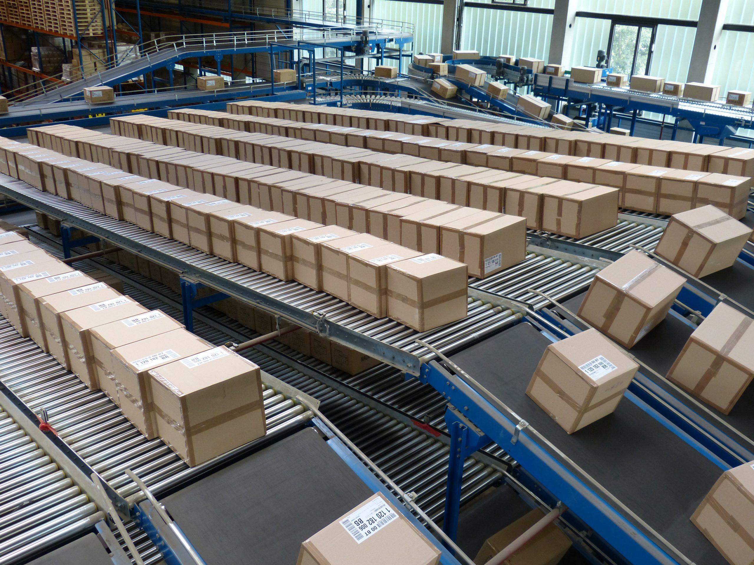 Sistemas de transportadores para logística