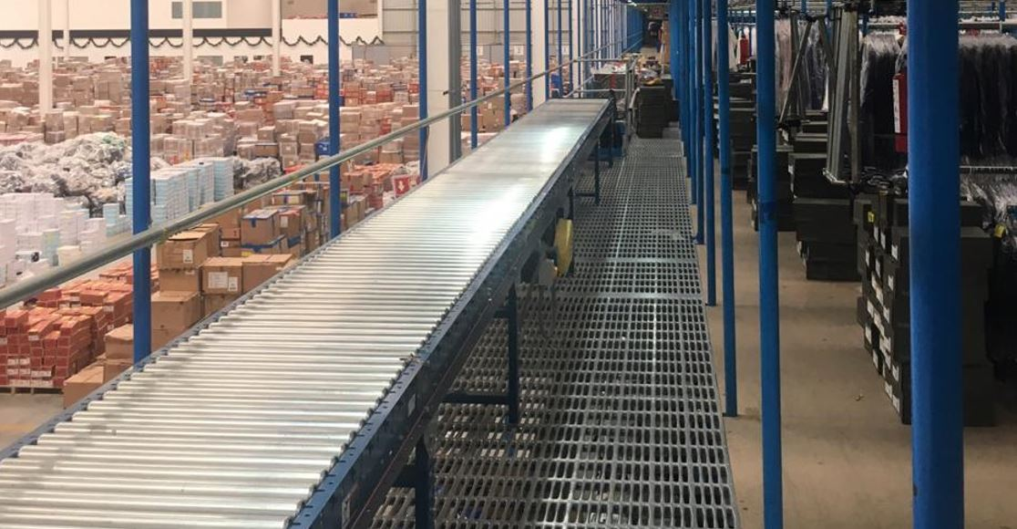 sistemas de transportadores para cajas