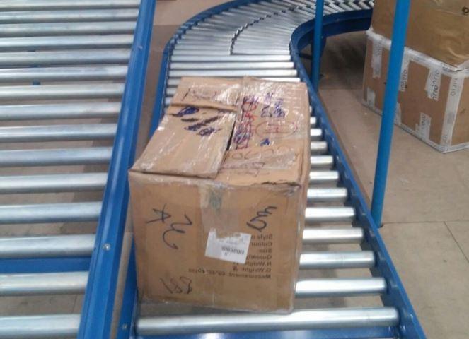 Transportadores para cajas